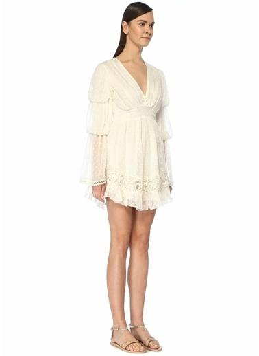 Hemant&Nandita Plaj Elbisesi Beyaz